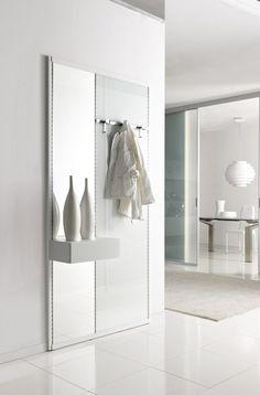 coat hooks and white cabinet modern design home ideas. Black Bedroom Furniture Sets. Home Design Ideas