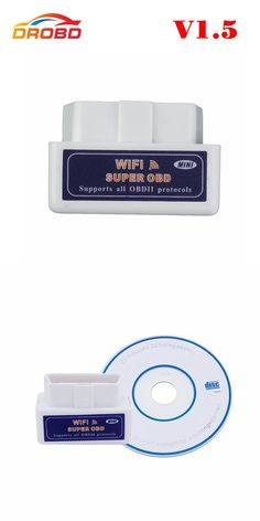 [Visit to Buy] Auto Code Reader ELM327 V1.5 25K80 Chip ELM327 WIFI Works for Android and IOS  ELM327 V 1.5 Supports All OBD2 Protocols #Advertisement
