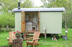 Shepherds Huts | Warmwell House