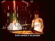 Tom Vinícius feat. Toquinho and Miúcha  - Samba de Avião | Live in Italy, Milan - 1978 | amazing performance by T<3M