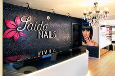 Das Studio von Saida Nails in Straubing (Niederbayern)