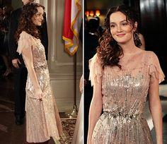 Leighton Meester as Blair Waldorf in Gossip Girl (4x20). Jenny Packham dress. So, so beautiful! <3