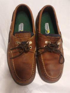 SEBAGO DOCKSIDE Mens Loafers 9M Brown