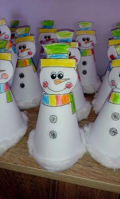Craft Ideas, Winter, Crafts, Templates, Crafting, Winter Time, Manualidades, Handmade Crafts, Craft