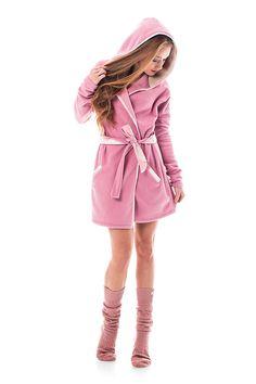 Pyžamy a župany - Župan Pink dawg - 7415594_