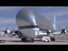 Elephant Man Cargo Plane  The Aero Spacelines Super Guppy of the Nasa   ...