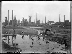 Stadt in der Stadt:  Tausende Arbeiter malochten einst in der Dortmunder...