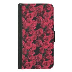 Red Roses Galaxy S5 Wallet Case