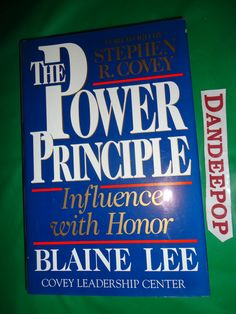The Power Principle 1997 Book find me at www.dandeepop.com