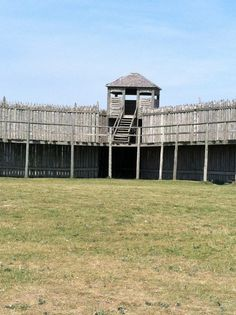 Fort Michilimackinac State Park in Mackinaw City, MI Wooden Fort, Michigan State Parks, American Indian Wars, Mackinaw City, American History Lessons, Build A Fort, Old Fort, Colonial America, History Education