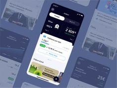 UX UI Investment App Concept by Tomas Skrkon for GoodRequest on Dribbble Mobile Application Development, Ui Ux Design, Investing, Concept