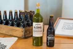 Licor de Hierbas / Cerveza Artesanal / 2012