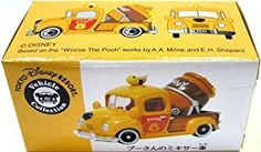 Amazon.com: [Mixer truck Tomica Tokyo Disney Resort Winnie the Pooh] TDR Disney Vehicle Collection Winnie The Pooh's Mixer Truck Tomica (japan import): Toys & Games