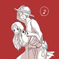 One Piece Comic, Nami One Piece, One Piece Ship, One Piece Fanart, One Piece Anime, Anime One, Otaku Anime, Luffy X Nami, Manga Couple