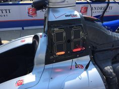 Two cars are running the @IndyCar LED system@in FP1. Here's @justin_wilson's @FollowAndretti machine.