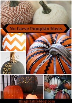No Carve Pumpkin Ideas {kid-friendly}