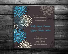 Wedding invitation Bridal shower announcement Save by hypermarket, $2.95