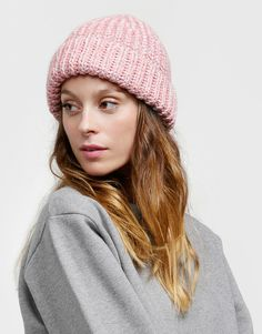 Wellington Hat Pink Blush/Silver Lurex