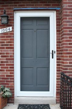 front door-gray might work