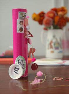 send a garland birthday gift mailed in tube