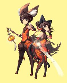 Blade and Soul - girls,boys,mixed by Hyung Tae Kim