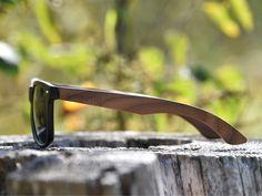 3ca7720d9a Classic wayfarer sunglasses with walnut legs. Wooden SunglassesWayfarer  SunglassesWalnut WoodRay BansMen And WomenLensesBambooFashion  AccessoriesLentils