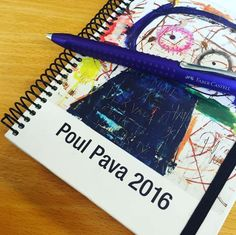 Poul Pava diary Faber Castell, Electronics, Illustration, Illustrations, Consumer Electronics