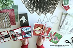 In this video I'm sharing 7 ways to use Decorative Mask also called Stencils + 10 easy and quick card ideas. ---LINKS--- BLOG --- http://www.bibicameron.co.u...