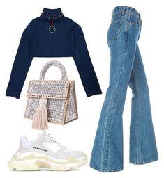 """Sans titre #1843"" by badgiirls ❤ liked on Polyvore featuring M.Y.O.B. and Balenciaga"