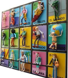 Great art. Mexican Loteria Cards.