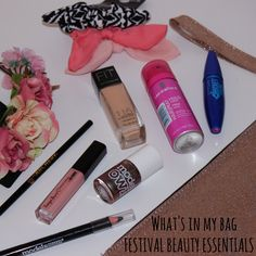 Life and Rags Blog...: What's in my bag - festival beauty essentials