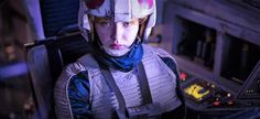 Star Wars- Rogue One Rebel Alliance Blue Squadron X-Wing fighter pilot.