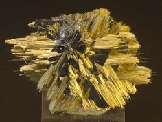 Rutile, Hematite - Novo Horizonte, Minas Gerais, Brazil http://auction3.mineral-auctions.com/item.php?itemID=22411