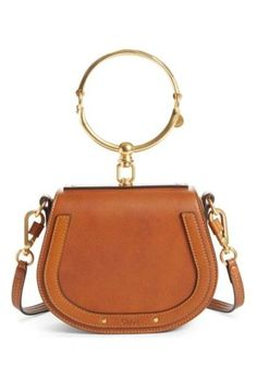 03d174b5d31 Chloe Nile Bracelet Crossbody Bag Small caramel  1690 NWT 100% Authentic!  CHIC