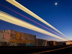 Laser train