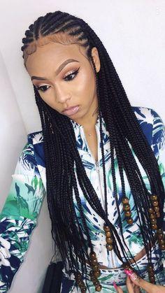 Cornrows And Braids Idea cornrows braids braided hairstyles natural hair styles Cornrows And Braids. Here is Cornrows And Braids Idea for you. Cornrows And Braids 47 of the most inspired cornrow hairstyles for Cornrows And B. Black Girl Braids, Braids For Black Hair, Braids For Black Women Cornrows, Long Braids, Purple Box Braids, Curly Braids, Natural Hair Braids, Braided Hairstyles For Wedding, Braided Cornrow Hairstyles