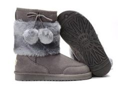 I just like fuzzy boots