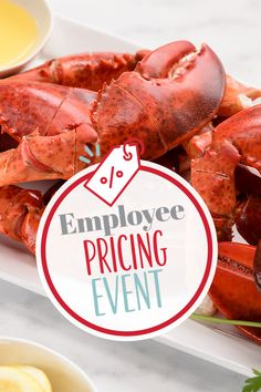 The finest lobster and seafood that the coast has to offer is now even easier to enjoy. Order now during our Employee Pricing Event and get 20% off site-wide with promo code EMPLOYEE20! #LobsterGram Lobster Gram, Giant Lobster, Live Maine Lobster, Fresh Lobster, Lobster Tails, Seafood Dinner, Coast