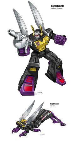 #TransformersG1 #Kickback