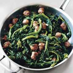 Broccoli Rabe with Sweet Italian Sausage