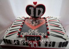 One Direction Cake One Direction Cakes, I Love Food, Candies, Cake Ideas, Birthdays, Birthday Cake, Party Ideas, Sweets