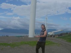 At the Bangui Windmill Farm in Ilocos Norte, Philippines. This is the largest windmill farm in Southeast Asia...