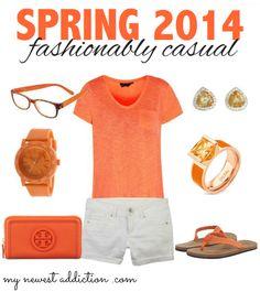 Spring 2014 Fashionably Casual via http://mynewestaddiction.com