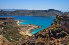 Gramvousa Island Crete Greece
