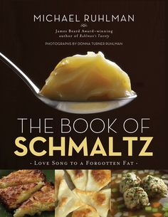 The official cover of Schmaltz, to be released in August. Does that fat not look divine?