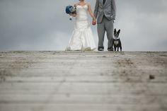 Incorporating their dog into their special wedding day at Big Sky/Moonlight Basin Resort in Montana.  #montanawedding #bigskywedding #weddingdog