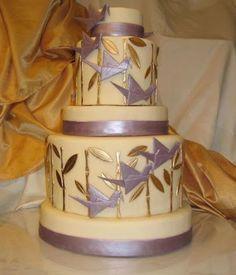 Resultado de imagem para japanese crane cake