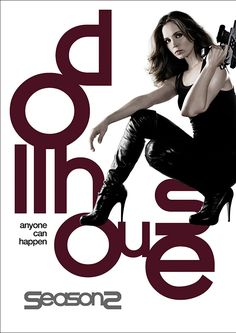 Dollhouse Series on DVD  The show follows an organization that employs mind-wiped humans known as Dolls who are implanted with false memories and skills for various missions and tasks. When they are not 'at work' they are living in a real life Dollhouse which gives the show the name. #dollhouse #dvd #seasontwo #joss  #whedon #josswhedon #elizadushku #doll #house