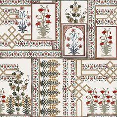 Sjf 32 31 in 2018 Prints Textiles Textile design t Textile Prints, Textile Patterns, Textile Design, Print Patterns, Design Art, Print Design, Fabric Design, Textiles, Arabesque