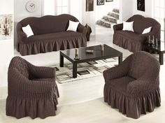 Fitted Chair Covers Ebay Home Chairs Back Problems 58 Best Sofa Images Couch Furniture Makeover Elastic Stretch Slip Fit Slipcover Loveseat Arm Cotton
